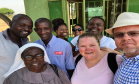 Residents and Faculty in Uganda